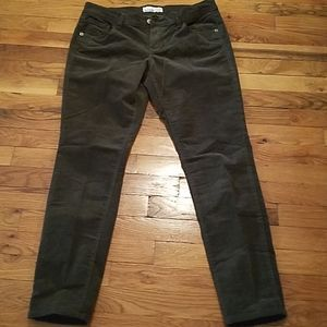 Old Navy  Olive Green Corduroy Pants